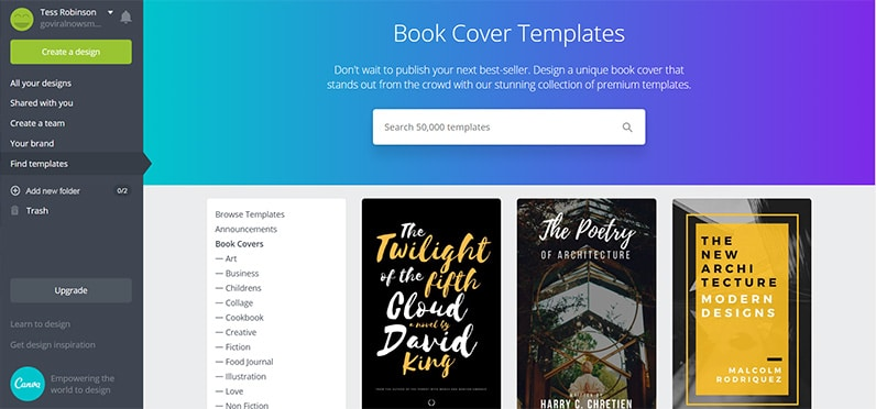 How To Create An Amazing Ebook Cover Online